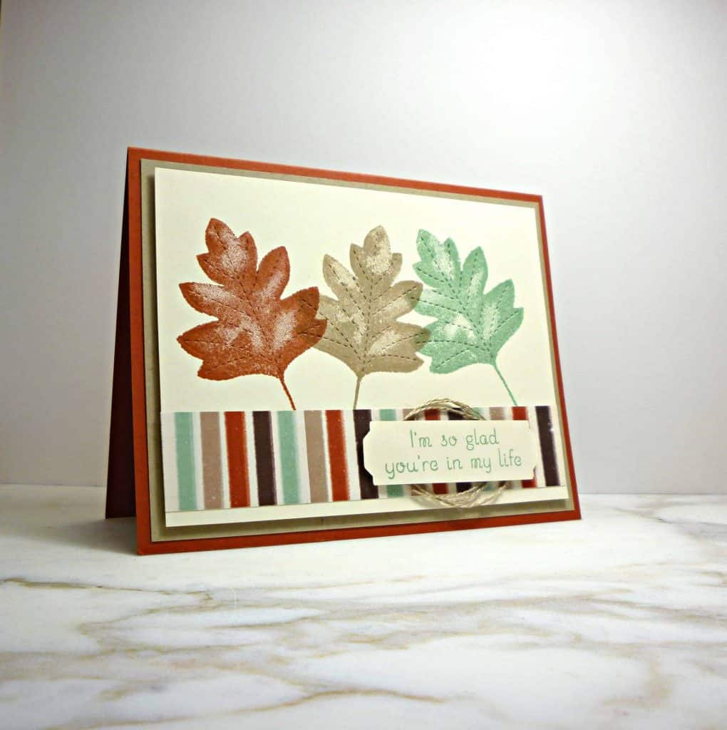 Love of Leaves card