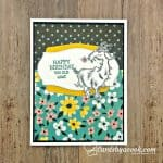 way to goat birthday card from Stampin' Up!